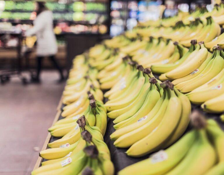 Glass på banan